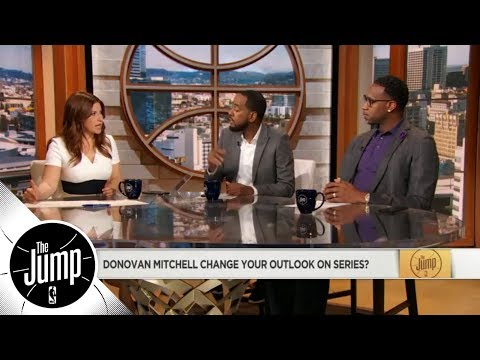 Rachel Nichols: You can see Donovan Mitchell learning as he plays | The Jump | ESPN