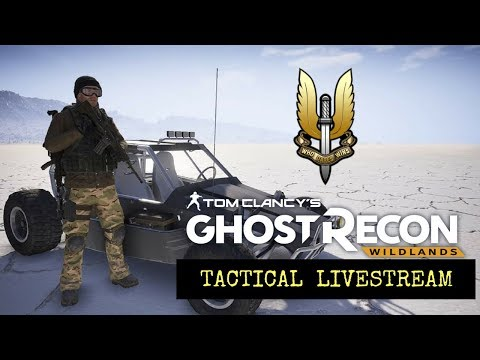Ghost Recon Wildlands: Operation Desert Storm: Tactical Ghost War livestream