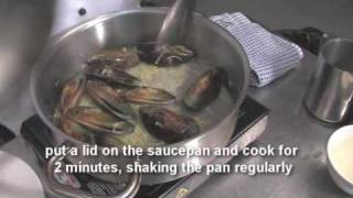Fresh Mussel With Leek And Potato