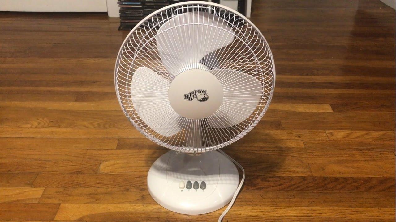 Hampton Bay Table Fan 12