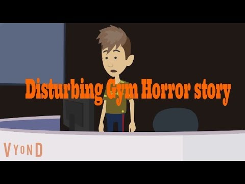 A Night with Ghost-Scary Story (Animated in Hindi) |IamRocker|
