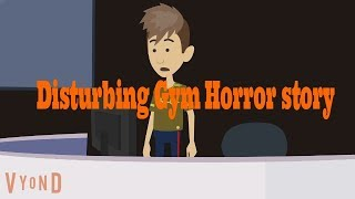 Ghost in my Gym-Scary Story (Animated in Hindi) |IamRocker|