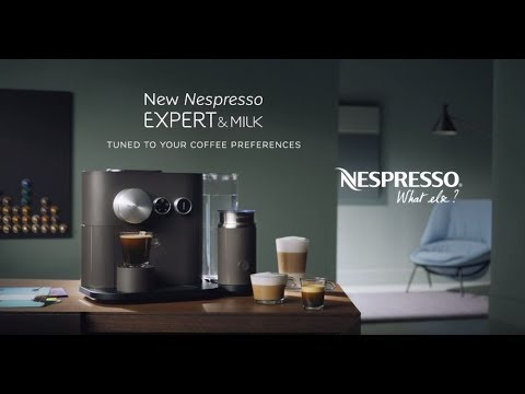 A review of the Nespresso Expert !!