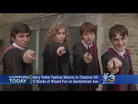 Magical Fun At Chestnut Hill's Harry Potter Festival