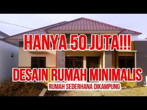 Hanya 50 Jutaa Desain Rumah Minimalis Sederhana Di Kampung