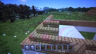 Minecraft construction d'un hôtel
