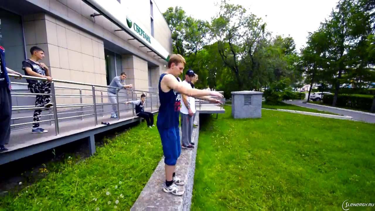 Открытая тренировка по фрирану и акростриту в Уссурийске