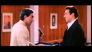 Scene from Karz 2002 - Sunny Deol & Ashutosh Rana