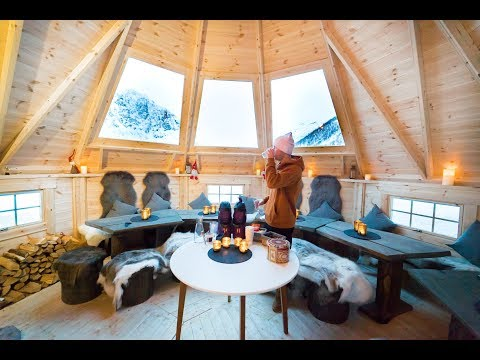 STAYING IN A LUXURY ARCTIC LAVVO - TROMSØ, NORWAY ❄️🏕️🇳🇴