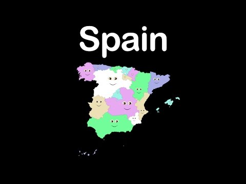 Country Of Spain Map.Spain Geography Country Of Spain Youtube