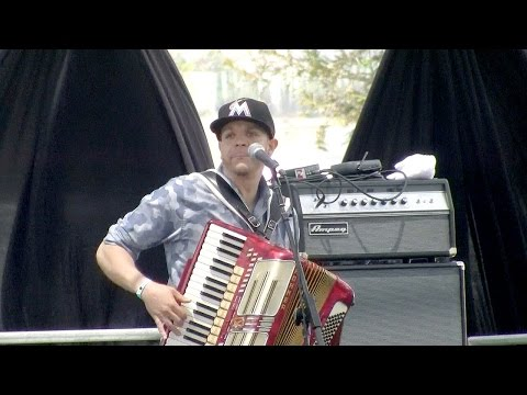 Andre Thierry and Zydeco Magic @ 2015 Simi Valley Cajun & Blues Music Festival