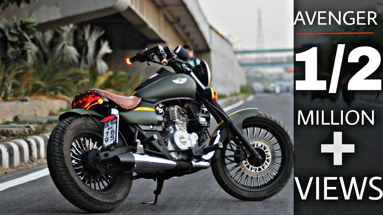 Avenger Modified Into Harley Devidson Bikes Modifications Custom