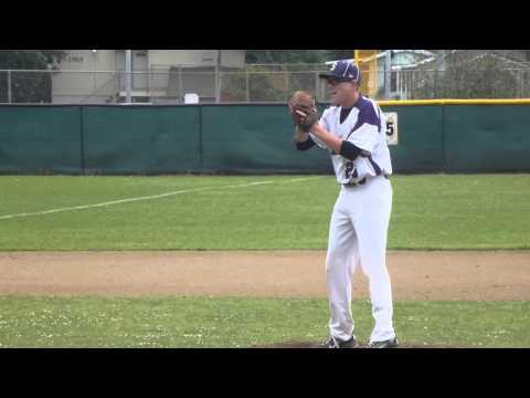 Eric Lex pitching verse Sutter High School