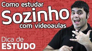COMO ESTUDAR SOZINHO COM VIDEOAULAS? | Matemática Rio