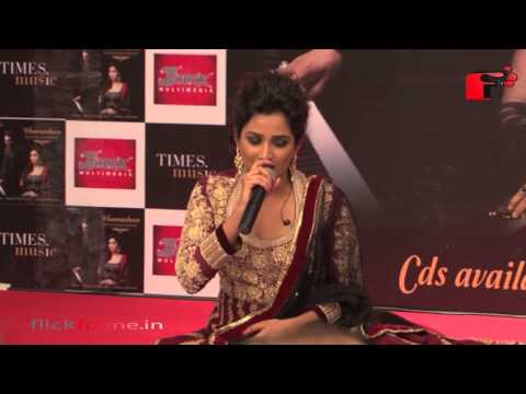 Shreya Ghosal launches her first ghazal album 'Humnasheen