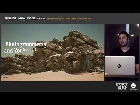 Photogrammetry and Unreal Engine 4 with Trendt Boe