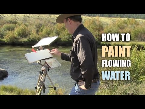 How To Paint Flowing Water