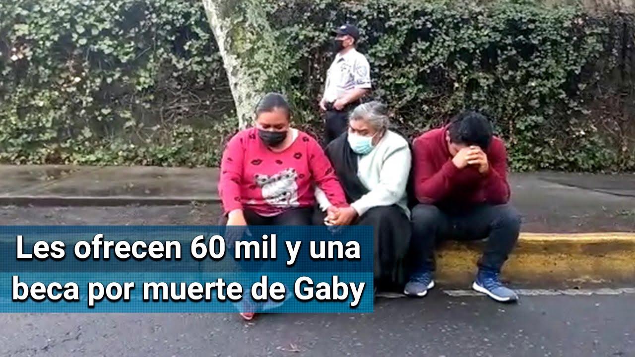 Pide familia de Gaby indemnización de 2 millones de pesos