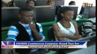 UNIBEN Commence Computer Based Test For Conduct Of 2015/2016 UTME