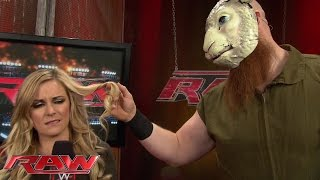 Erick Rowan has his eye on Renee Young: Raw, Nov. 3, 2014