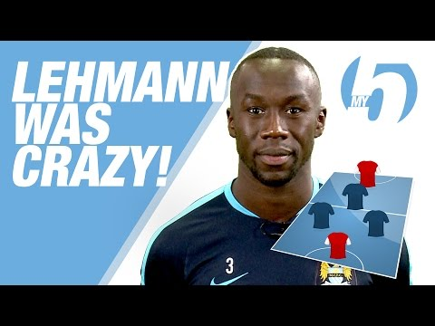 'LEHMANN WAS CRAZY!' | Bacary Sagna's Greatest Ever Five-A-Side Team