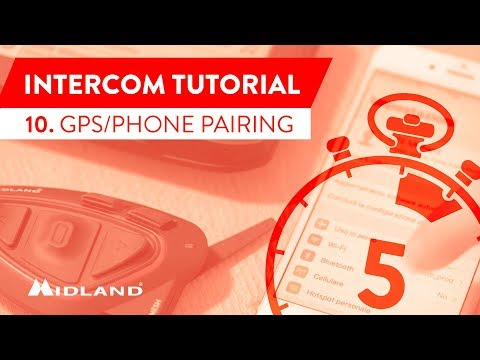 MIDLAND TUTORIALS - BT MESH, BT X1 PRO S e BT X2 PRO S - GPS AND SMARTPHONE PAIRING