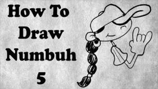 How To Draw Numbuh Five