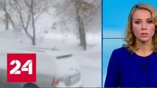 """Погода 24"": на юге Сибири выпало рекордное количество снега - Россия 24"