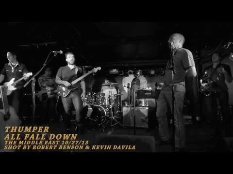 Thumper - All Fall Down  (Middle East 10\27\13, HD, Multicam, B&W, HQ Audio)