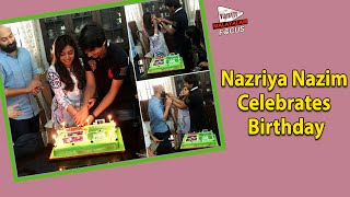 Nazriya nazim, the darling of malayalam movie industry, celebrated her 21st birthday yesterday (december 20th), with hubby fahadh faasil and only brother nav...