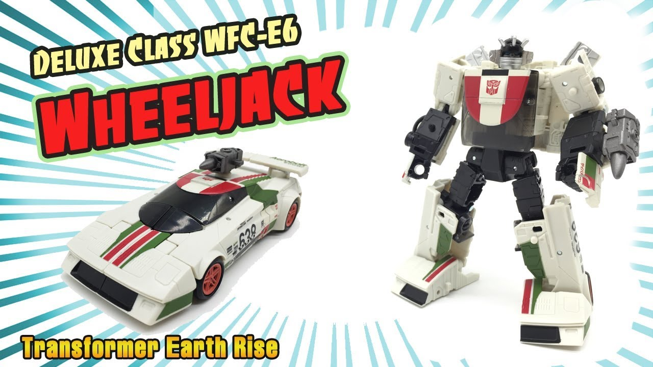 Transformers Earthrise WFC-E6 Autobot WHEELJACK Deluxe Class MISB//New 2020
