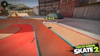 Touchgrind Skate 2: Debajo del mapa por un segundo!?
