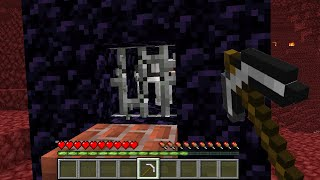 Saving Minecraft WOLF from HEROBRINE
