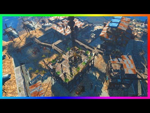 FALLOUT 4 BASE BUILDING GAMEPLAY - Creating A Castle, Military Armory & MORE! (Fallout 4)