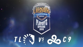 TL Vs. C9    NA LCS Spring Playoffs   Quarterfinals Game 2   Team Liquid Vs. Cloud9 (2018)