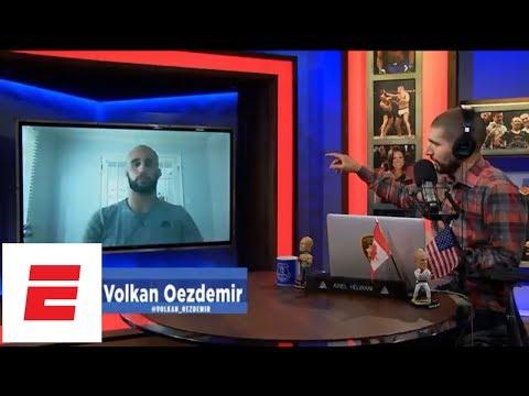 [FULL] Volkan Oezdemir interview | Ariel Helwani's MMA Show | ESPN