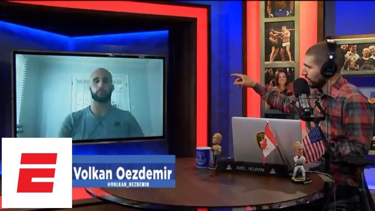 [FULL] Volkan Oezdemir interview   Ariel Helwani's MMA Show   ESPN