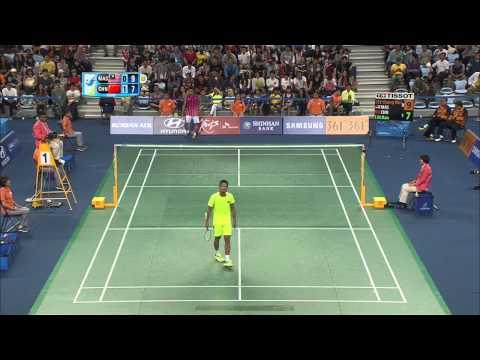 [HD] SF - 2014 Asian Games - MS - LIN Dan Vs LEE Chong Wei