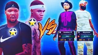 "2 BROTHERS VS STOPPING SUICIDE! ""HE IS NOW APART OF THE HAZZARD FAMILY!"" NBA2K19 TREANDJ"