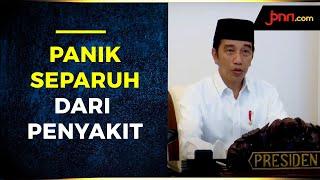 Gelar Doa Bersama, Mohon Pandemi Covid-19 Berakhir, Jokowi: Kita Semua Wajib Berikhtiar - JPNN.com