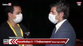 Fenerbahçe Trabzonspor maçı sonrası Kadıköy'den canlı yayın