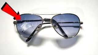 How to Remove Scratches from Sunglasses