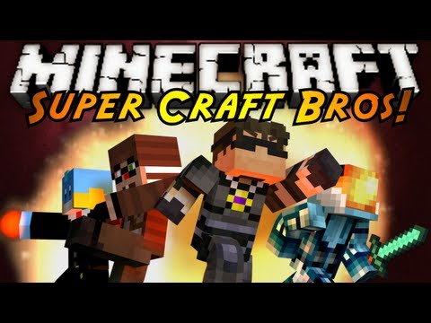 Minecraft Mini-Game : SUPER CRAFT BROS BRAWL!