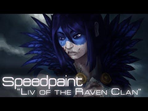 "Speedpaint ""Liv of the Raven Clan"" |"