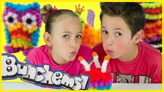 BUNCHEMS CHALLENGE AND REVIEW! *NEW* BUNCHEMS MEGA PACK TOY UNBOXING VIDEO BY PLP TV