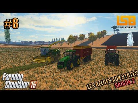 RôlePlay | Les Belges aux States #8 S2 | Du paranormale | Farming simulator 15