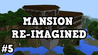 Minecraft Xbox - Woodland Mansion Re-Imagined in SURVIVAL #5