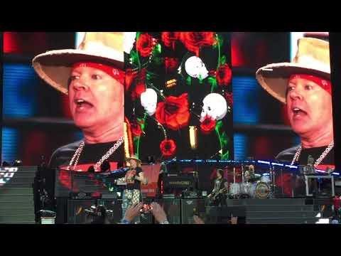 Guns N' Roses Slash Solo / Godfather / Sweet Child O' Mine 07.07.18 Leipzig