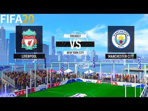 FIFA 20   Liverpool Vs Manchester City - Premier League VOLTA - Full Match & Gameplay