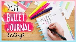 My 2019 Bullet Journal Setup | Sea Lemon